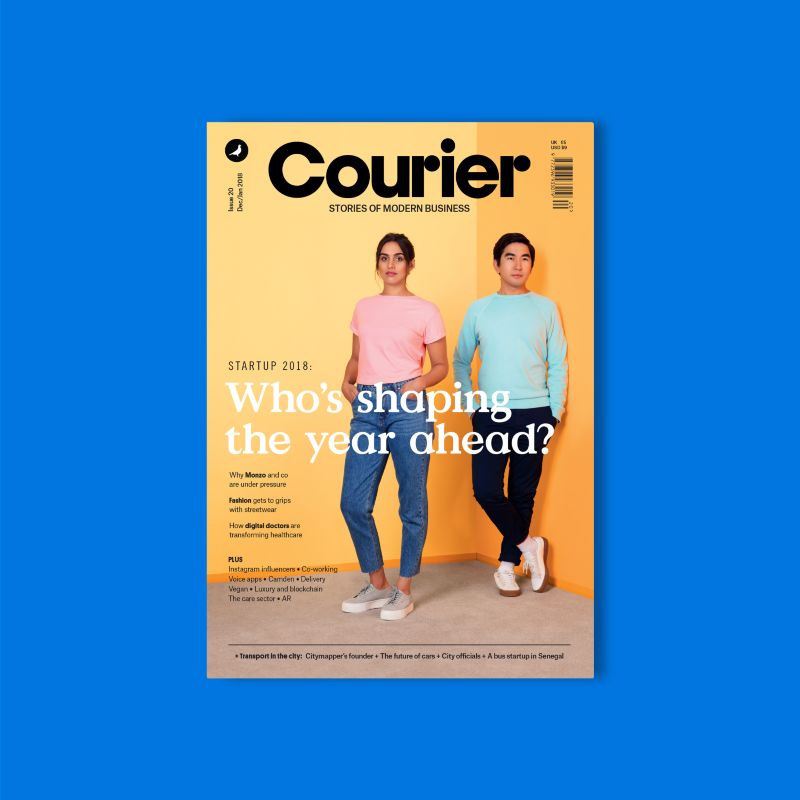 Courier 20: Startups set to shape 2018