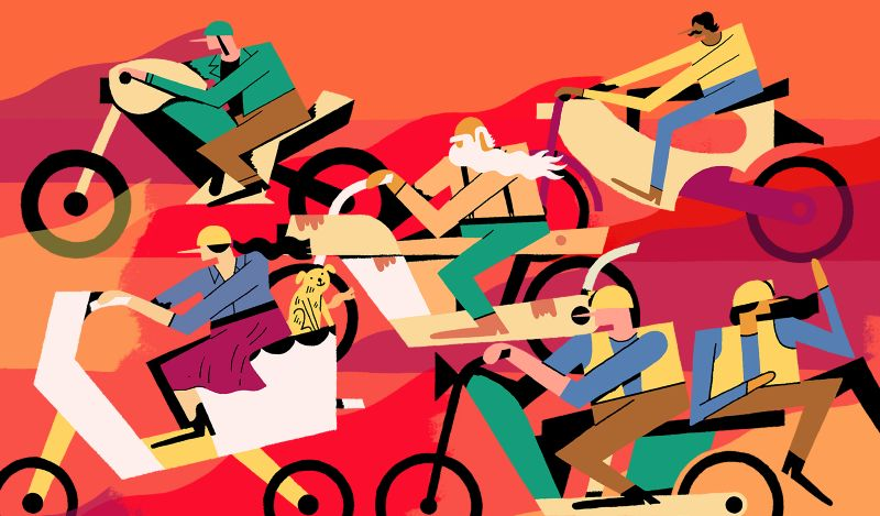 Culture Trip - Bikers