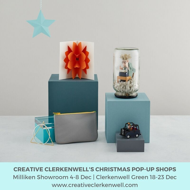 Creative Clerkenwell - Christmas Pop up - with 'the Creative Edit'