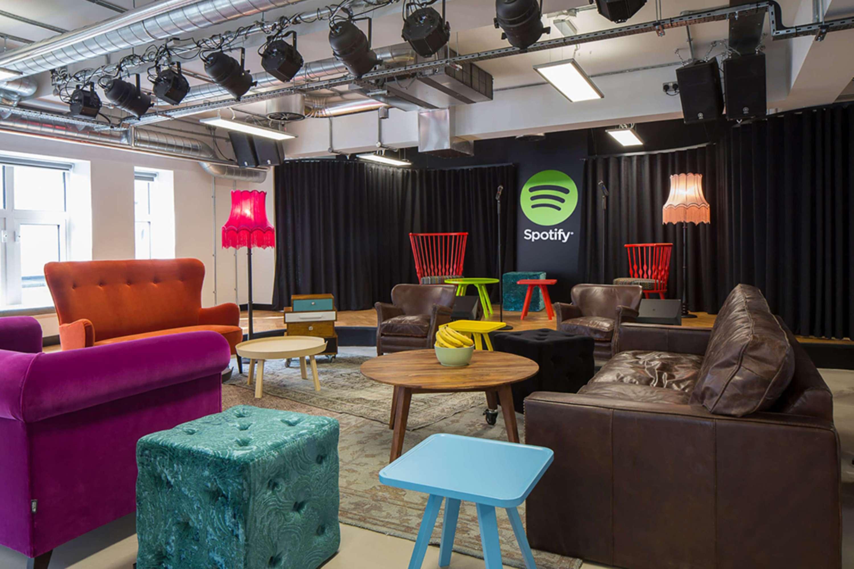 spotify york office spotify. Image: Spotify By Tetris Office Design York