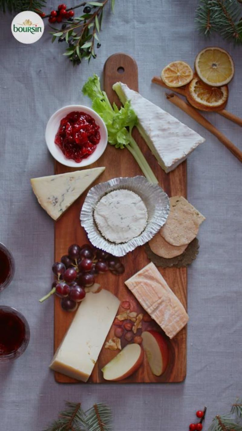 Boursin: How To Cheeseboard