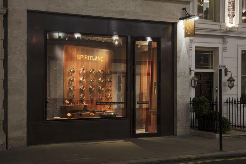 Spiritland Headphone Bar, Mayfair, London