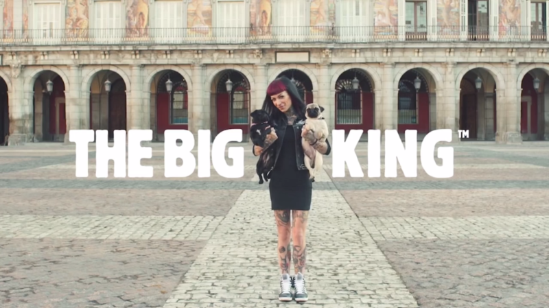 "Burger King - ""The Big King"" Launch Film"