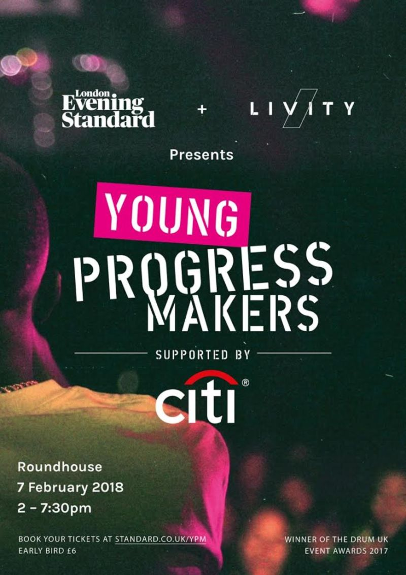 Evening Standard x Livity Young Progress Makers