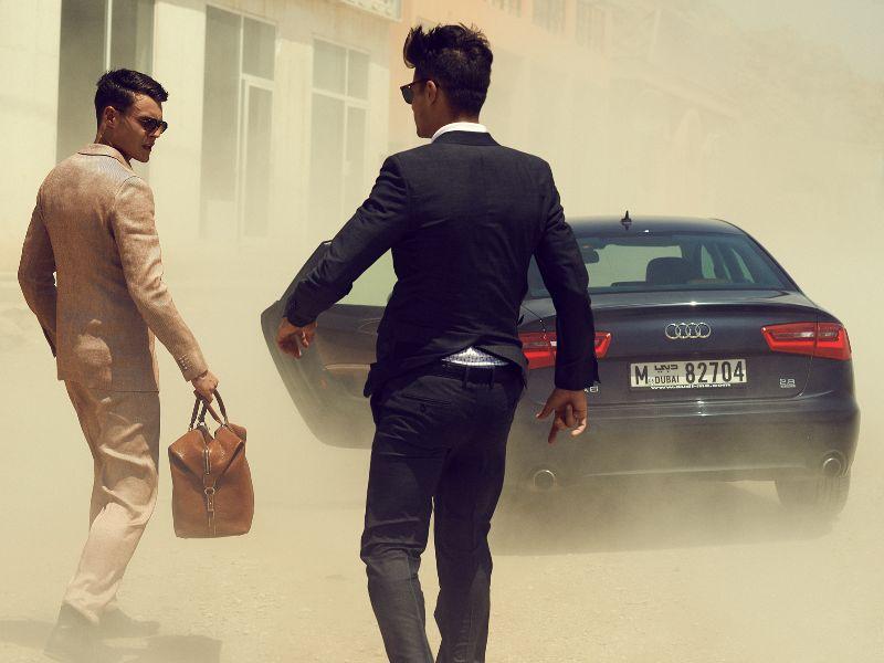 Audi for Emirates Man