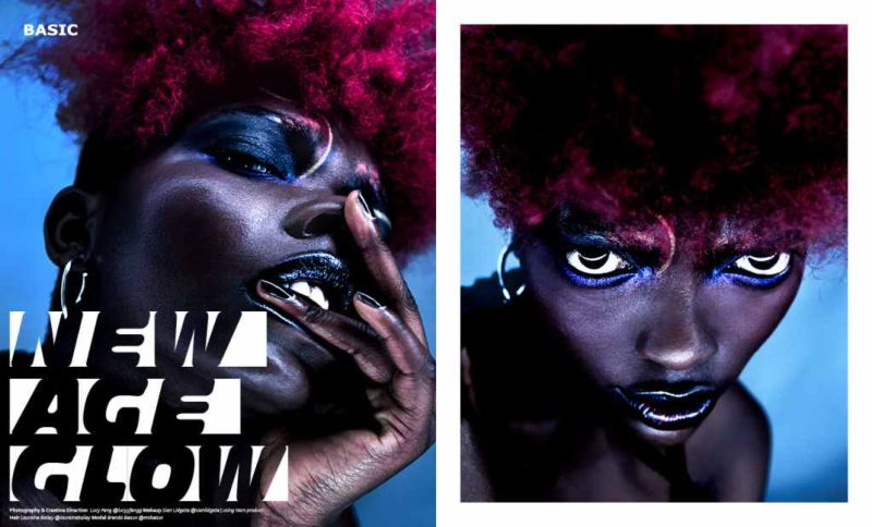 Hair Stylist : Basic Magazine