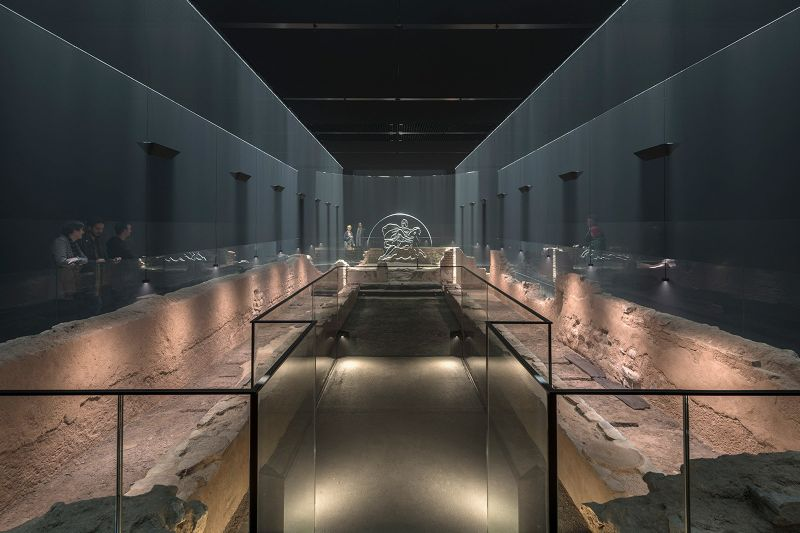 London Mithraeum / Bloomberg SPACE