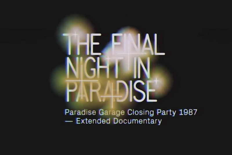 The Final Night In Paradise - Documentary Installation