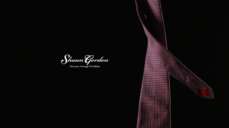Shaun Gordon: The Tie Dance
