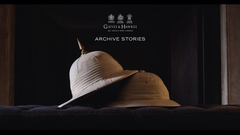 Gieves & Hawkes - Archive Stories