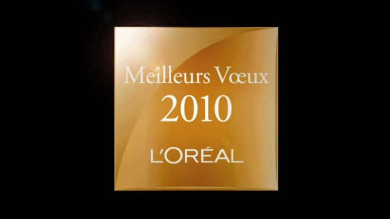 L'Oreal greetings ecard