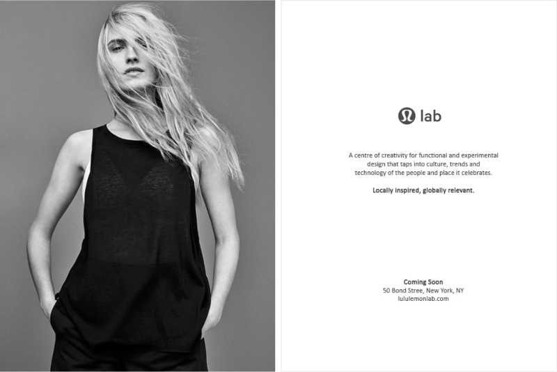 lululemon lab NYC launch
