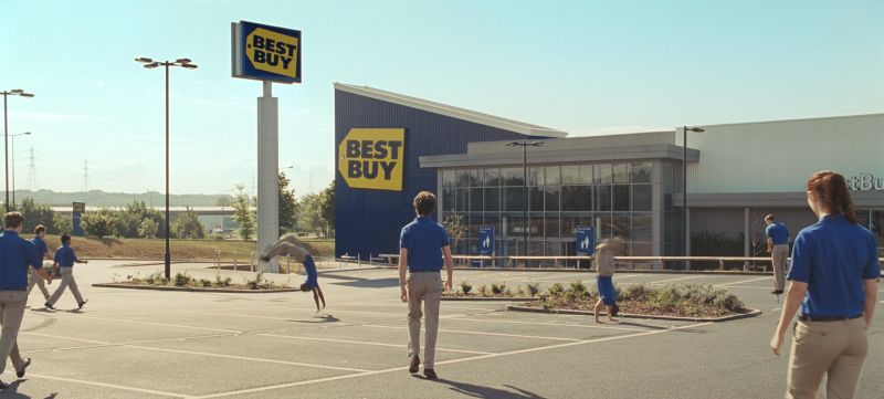 BestBuy 'Happy Morning'
