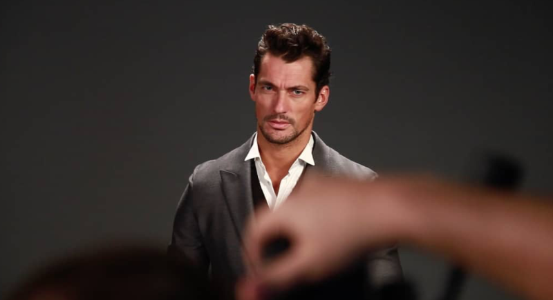 GQ - Behind the scene with David Gandy