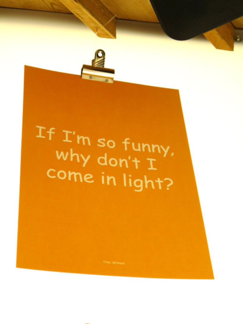 Comic Sans for Cancer poster
