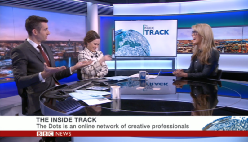 BBC Business Live Interview - Pip Jamieson, The Dots