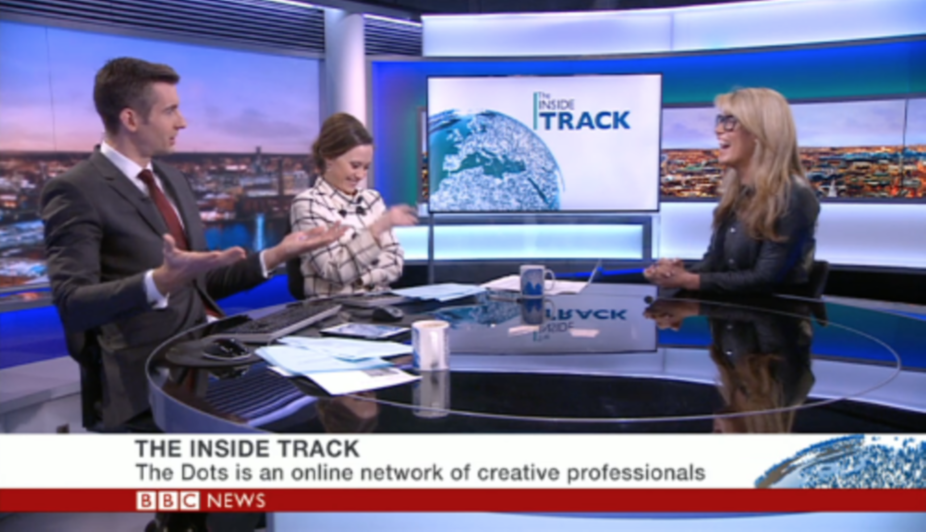 BBC Business Live Interview - Pip Jamieson, The Dots | The Dots