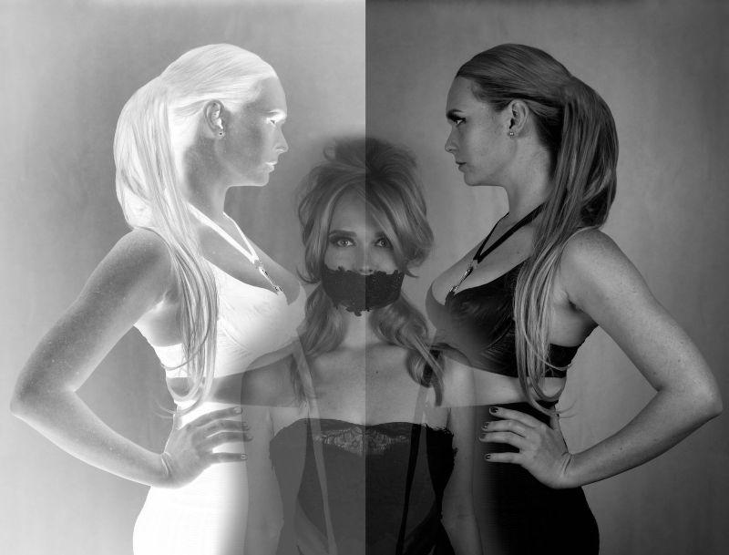 Feminine Lace vs Fetish Straps