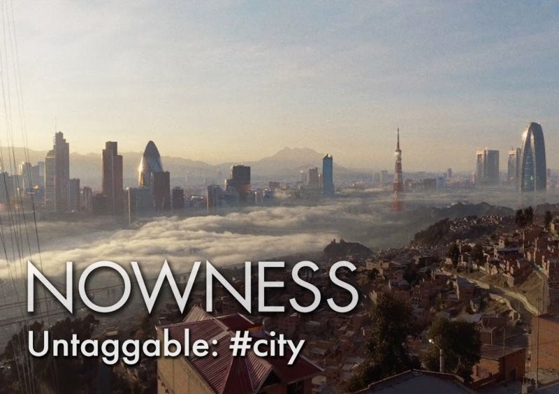 NOWNESS #untaggable city