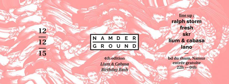 NAMDERGROUND Club Night