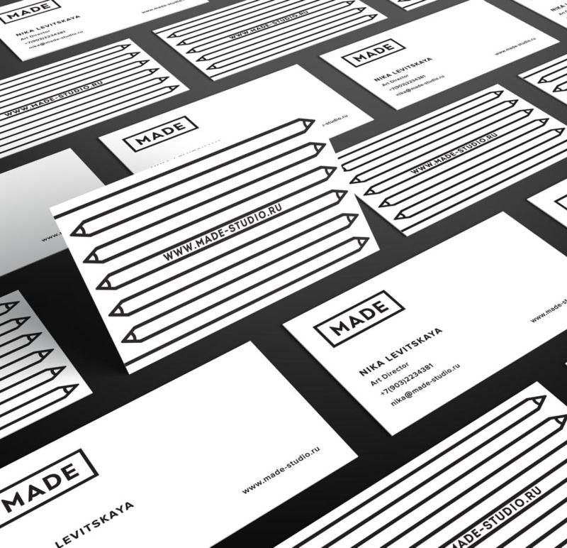 MADE design studio identity