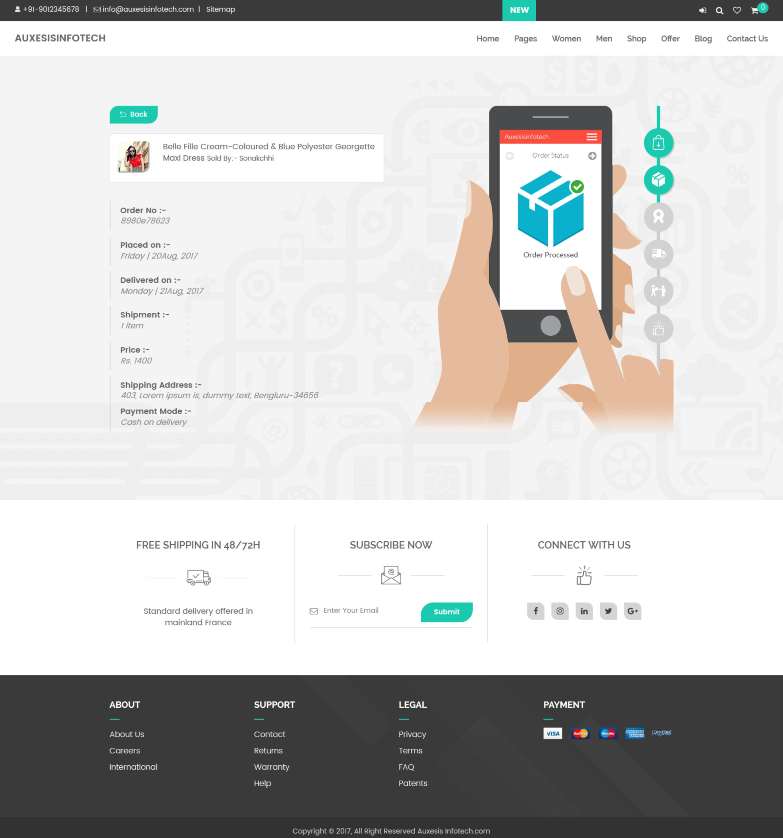 a150ef7ad4c Multi-purpose e-commerce site