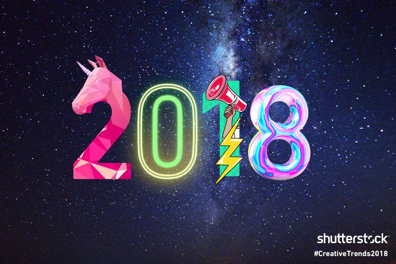 Shutterstock's 2018 Creative Trends Report