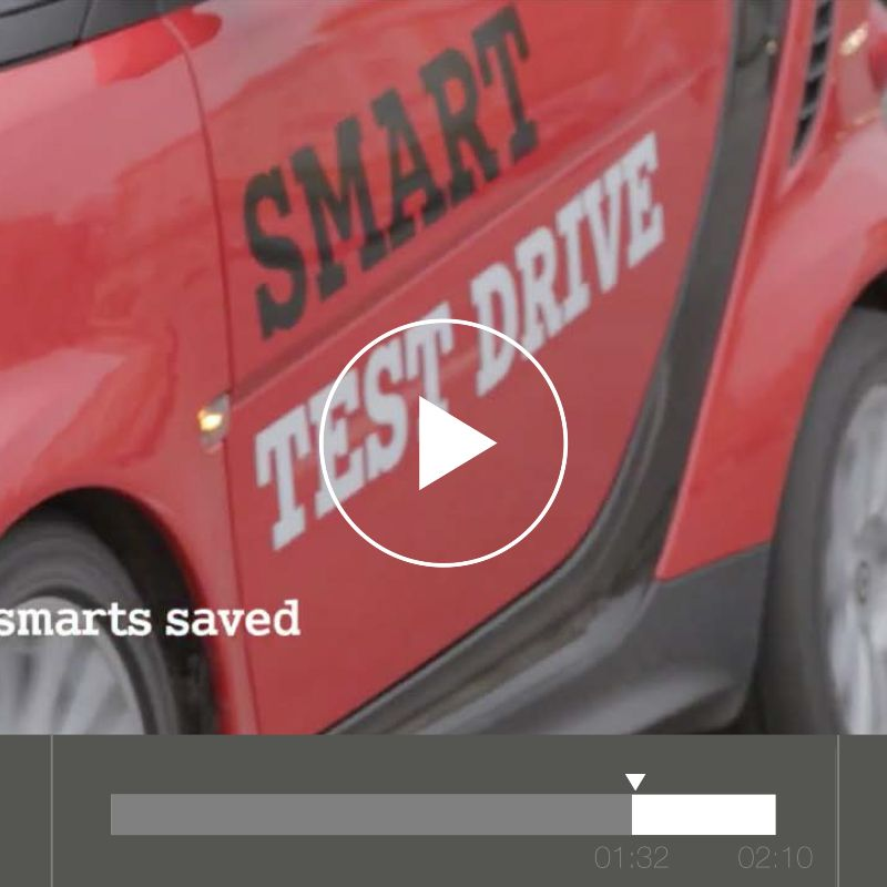 Smart - The Unexpected Test Drive