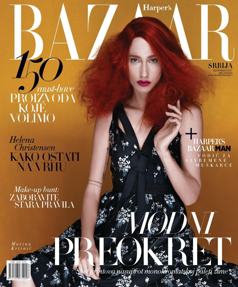 COLOUR THERAPY - COVER FASHION STORY - NOVEMBER ISSUE - HARPER`S BAZAAR SERBIA