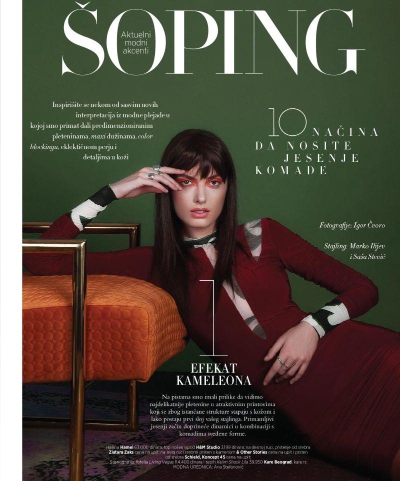 FASHION EDITORIAL - SEPTEMBER ISSUE - HARPER`S BAZAAR SERBIA
