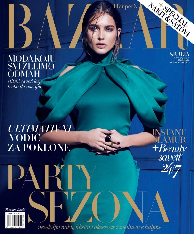 STYLE EX MACHINA - COVER FASHION STORY - DECEMBER ISSUE - HARPER`S BAZAAR SERBIA