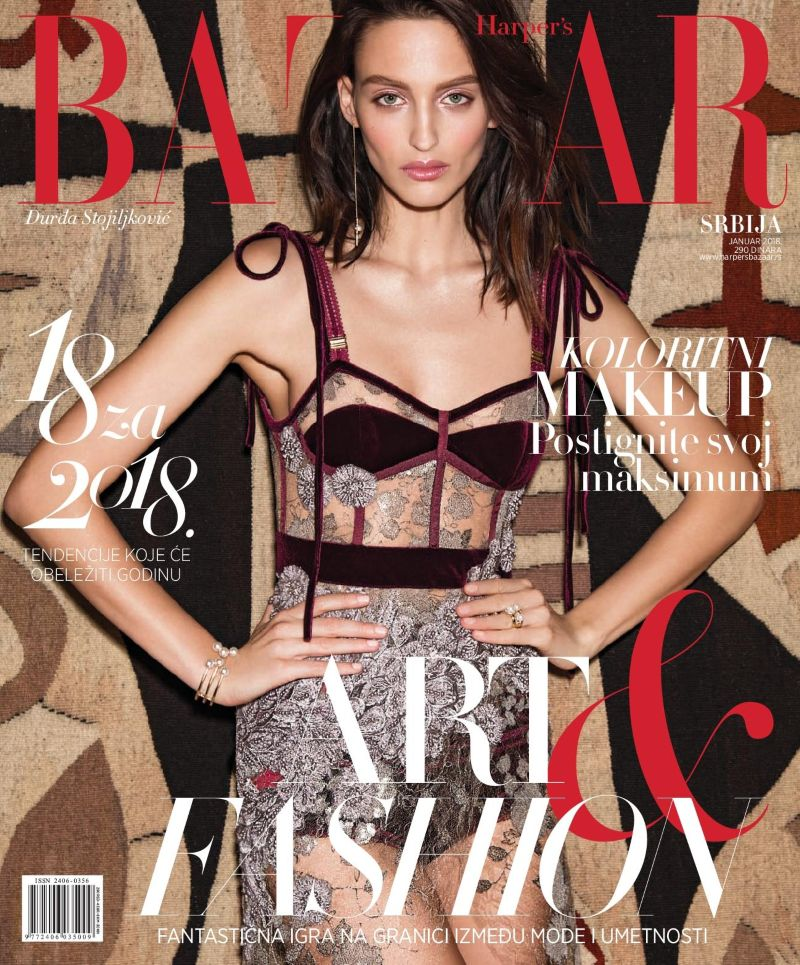 DREAM PALETTE - COVER FASHION STORY - JANUARY ISSSUE - HARPER`S BAZAAR SERBIA