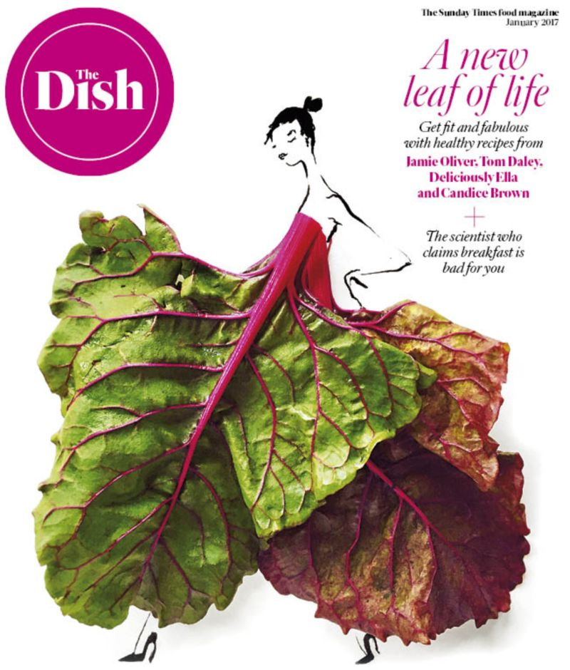Launched and edited The Dish food magazine for The Sunday Times