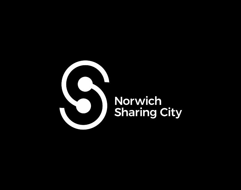 Norwich Sharing City identity