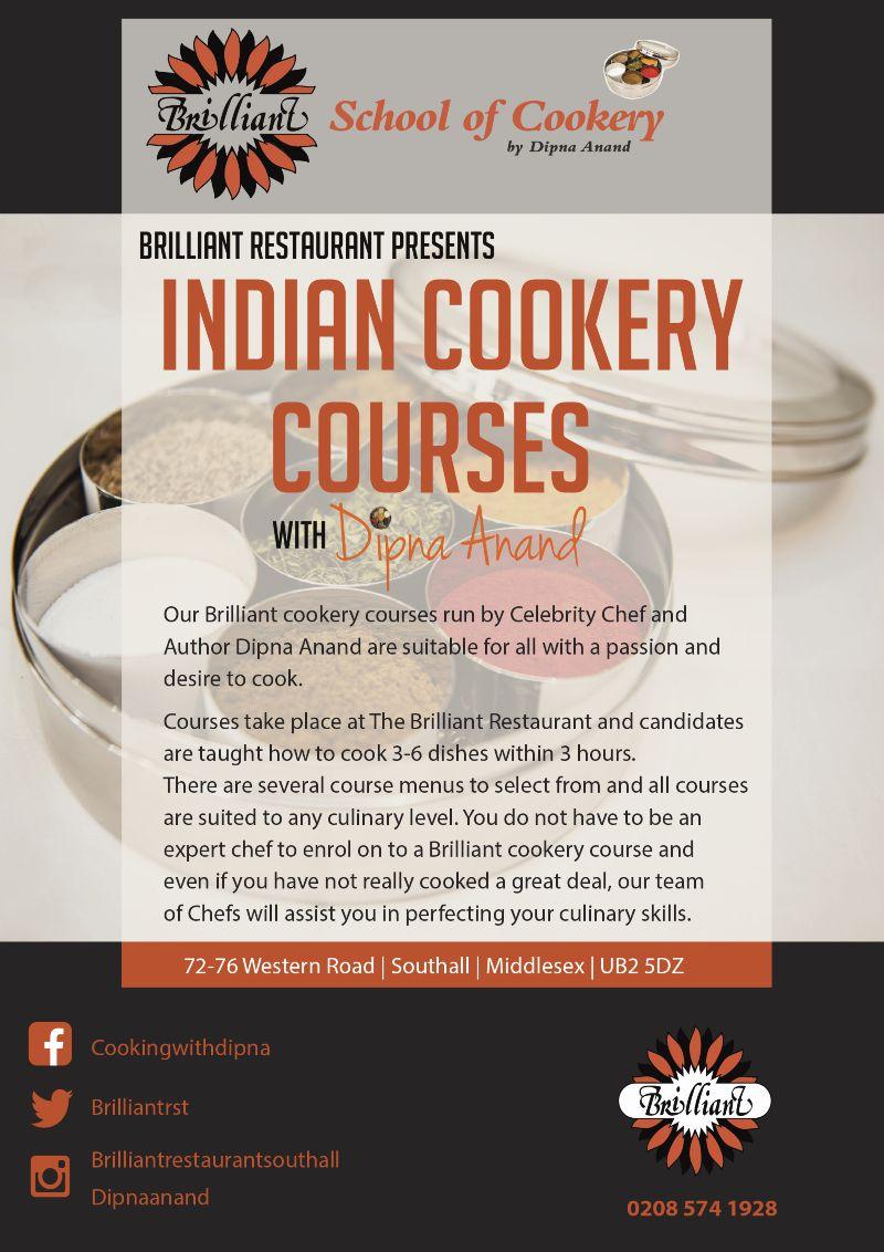 Marketing Material for Brilliant Restaurant