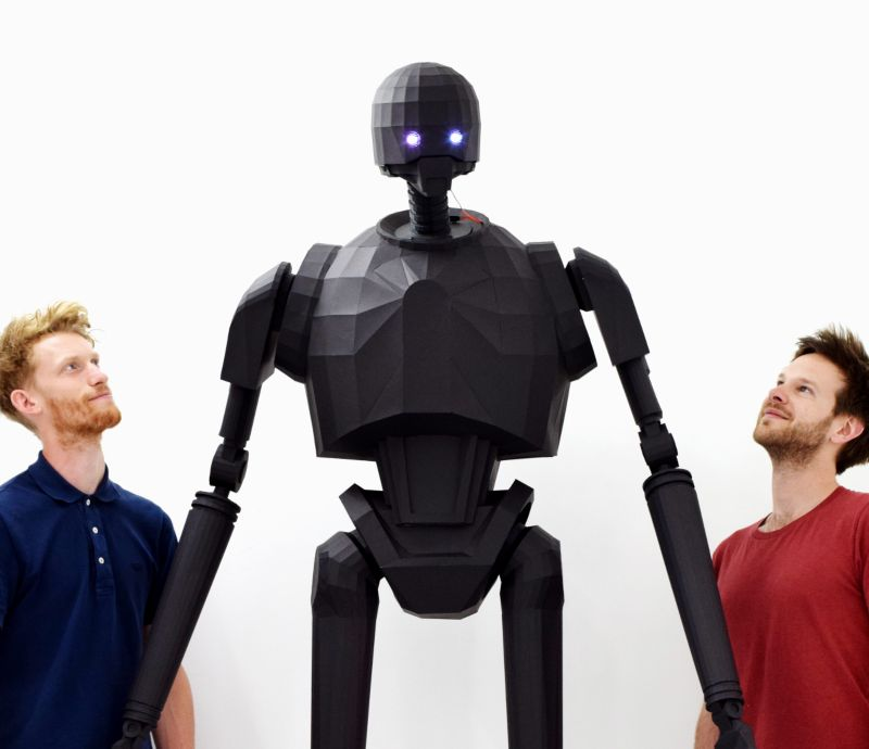Star Wars K-2SO for Comic Con Silicon Valley