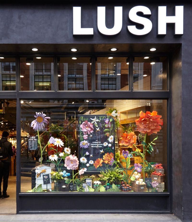 Lush - Oxford Street Window Display