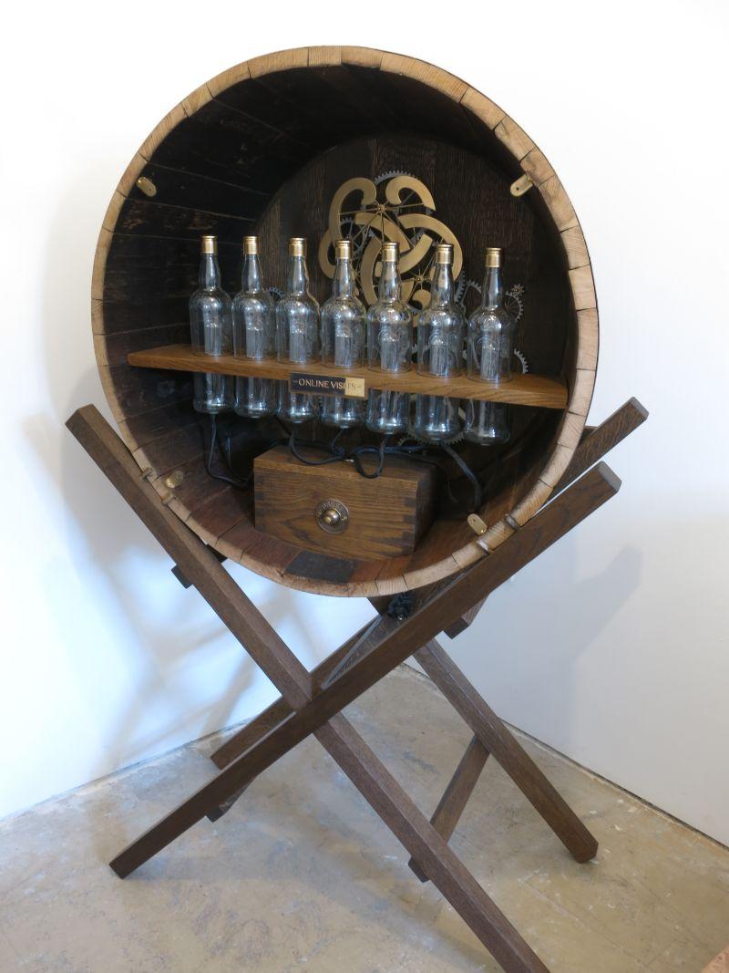 Dewars Whisky Cask Installation