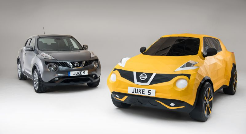 Nissan Juke: Folded In Britain