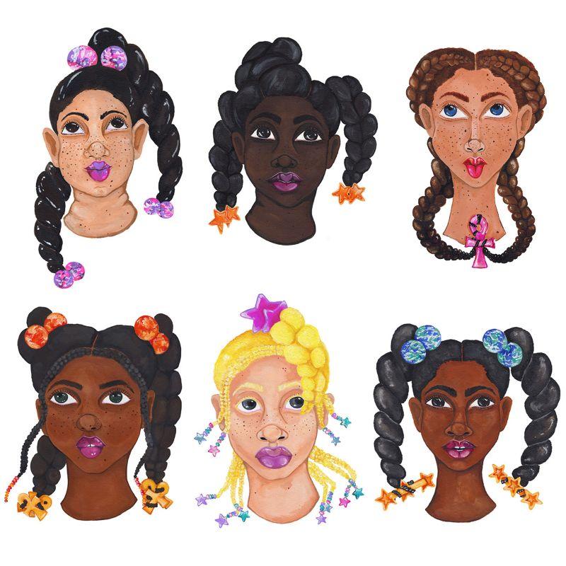 Black Girl Magic Portraits