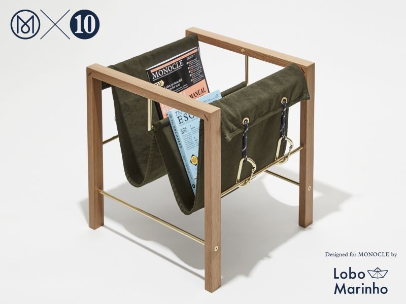 The 10th Anniversary Magazine Rack: Monocle x Lobo Marinho