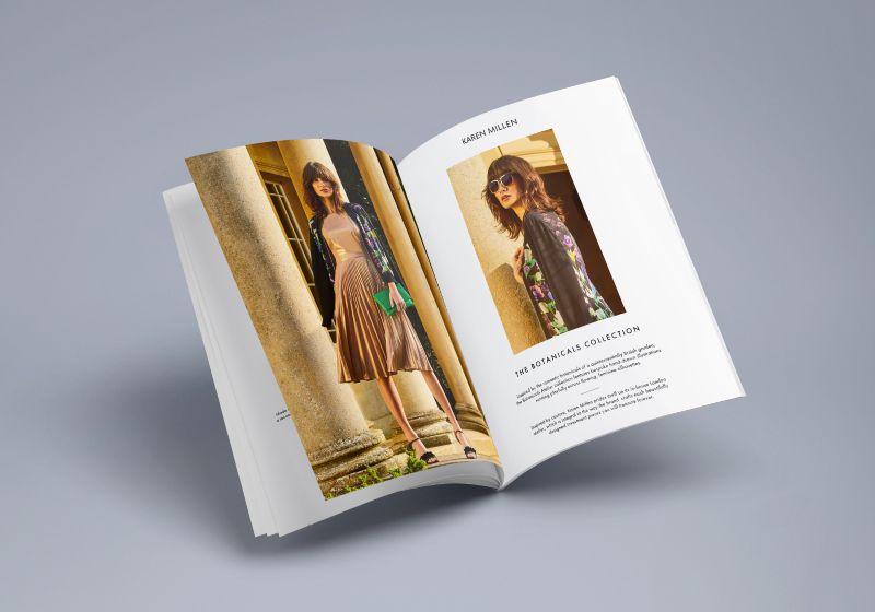 Karen Millen SS17 Atelier Graphic Design
