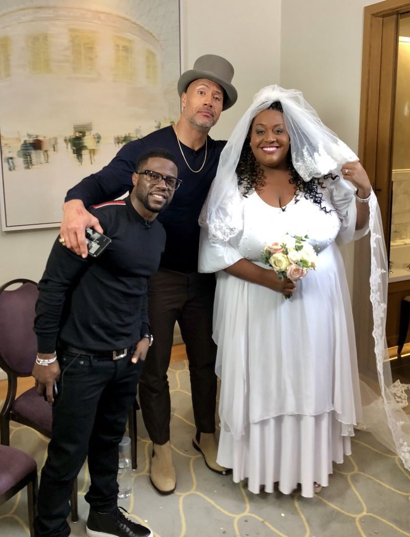 When Alison Hammond married 'The Rock' - Dec 2017