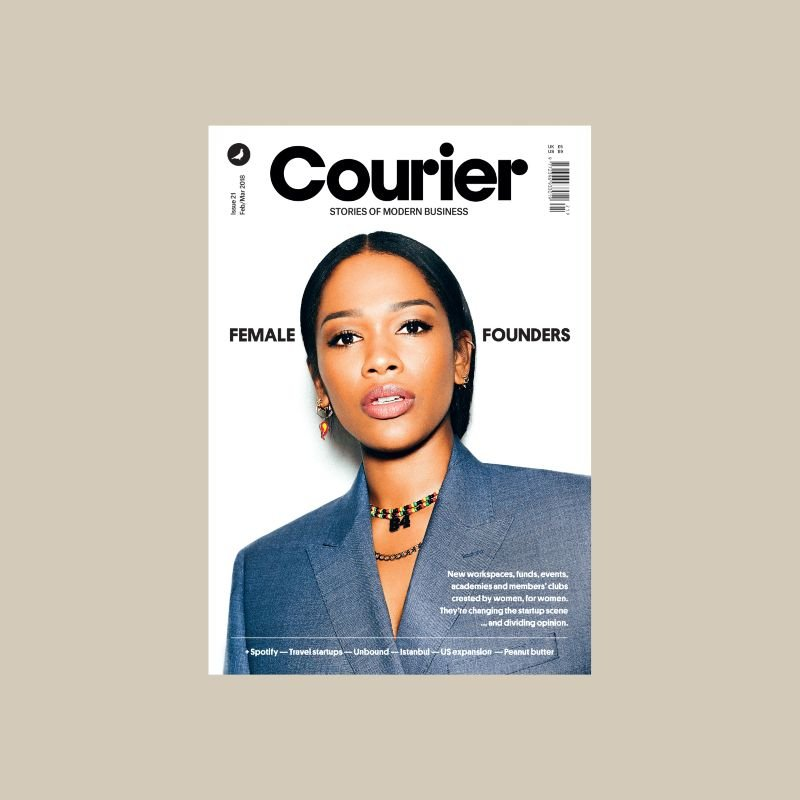 Courier 21: Female founders