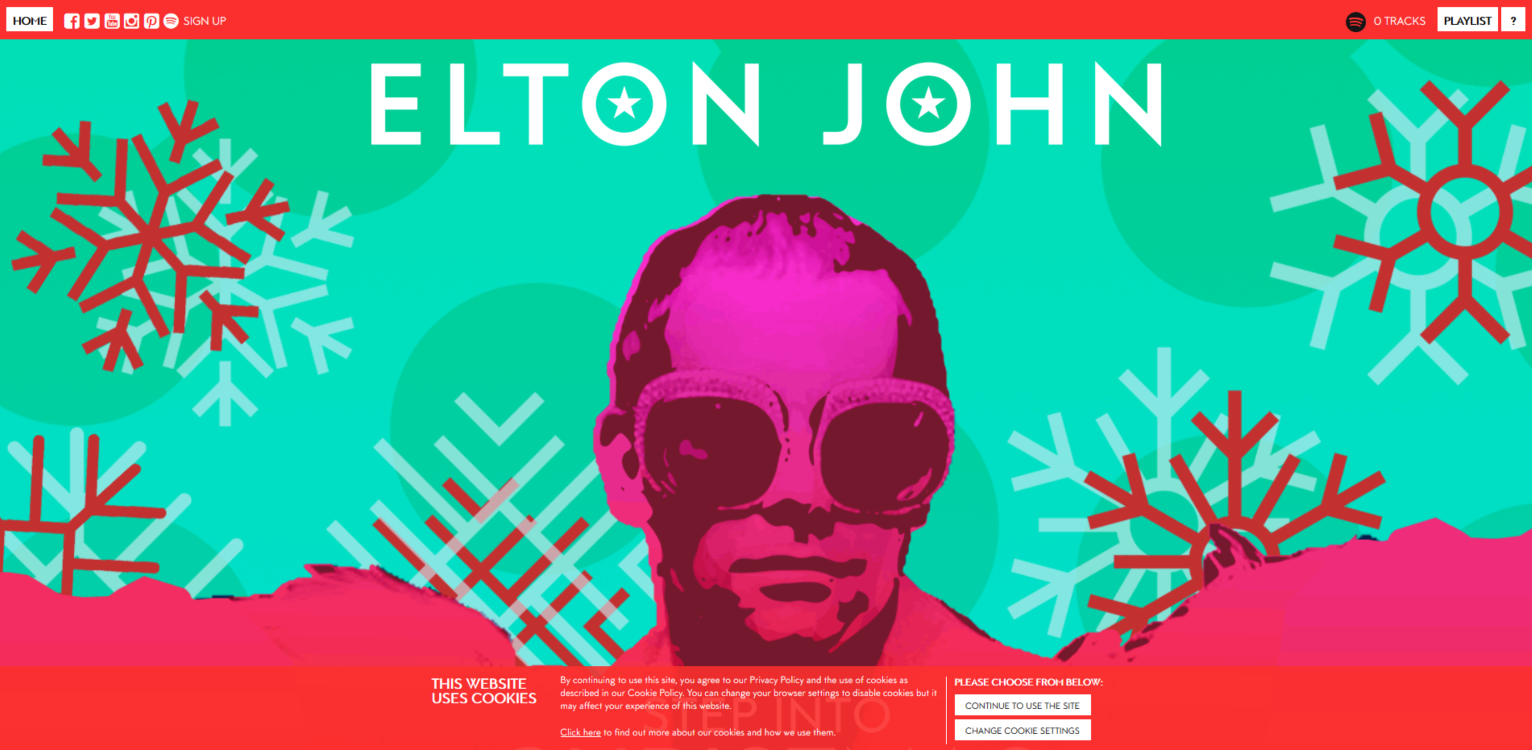 elton john step into christmas spotify playlist generator