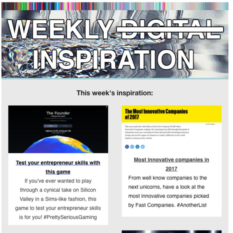 Weekly Digital Newsletter