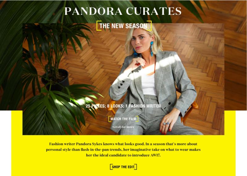 Warehouse x Pandora Sykes AW17 Digital Feature