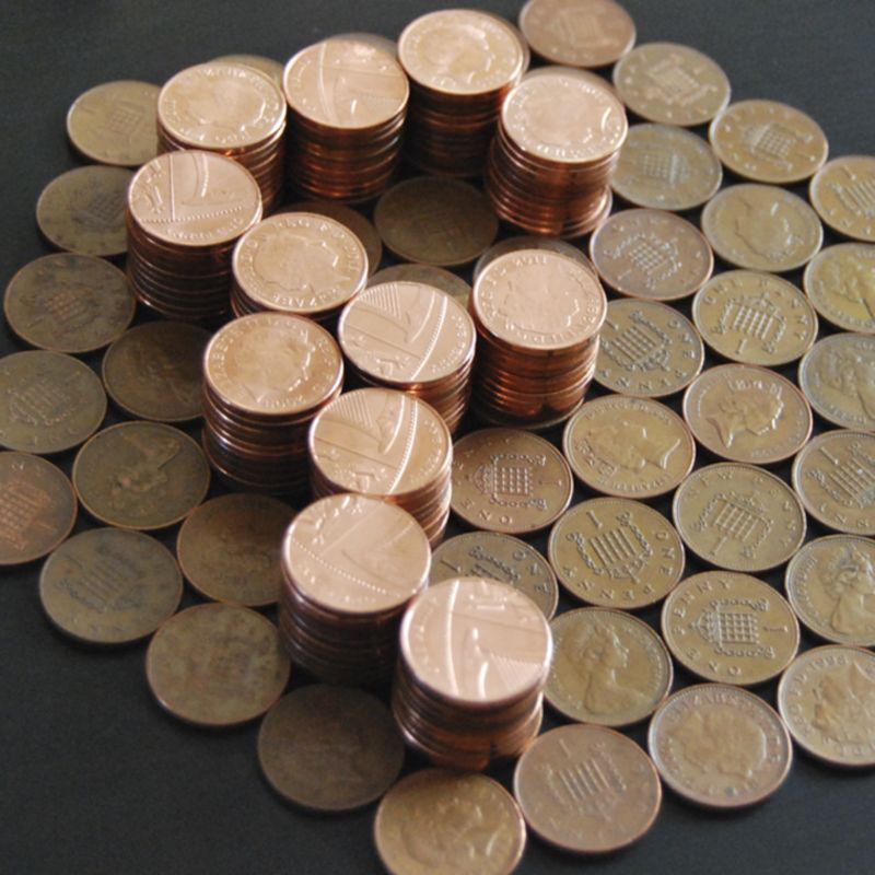 Handmade Pennies Typeface