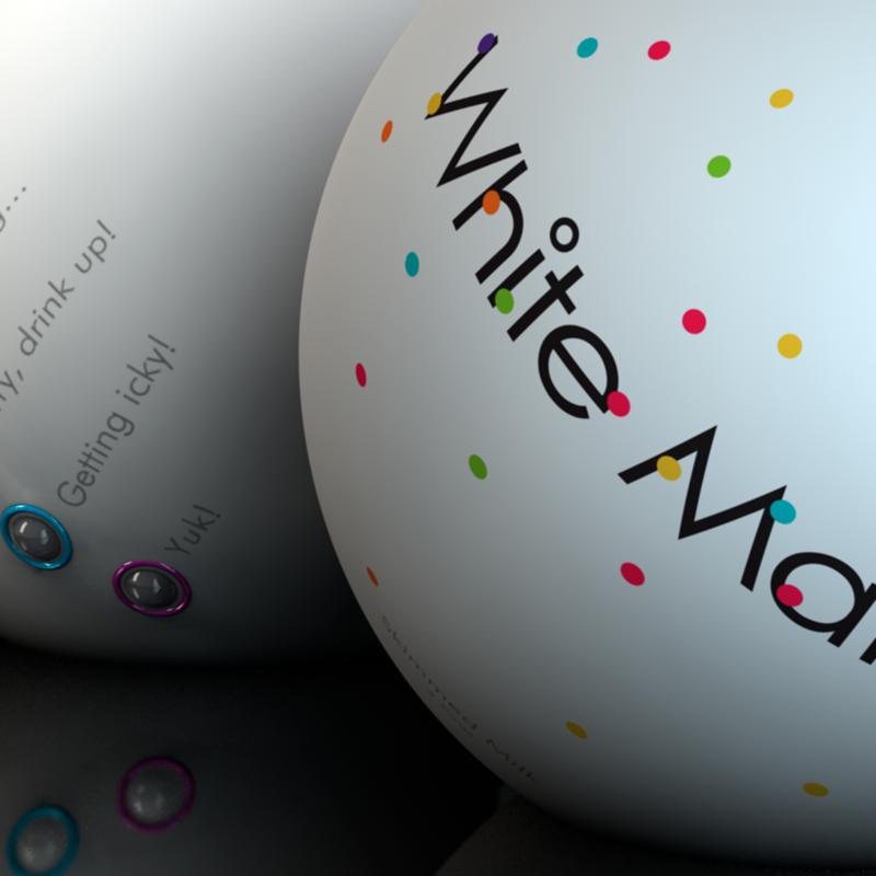White Matter - Award Winning Milk Packaging