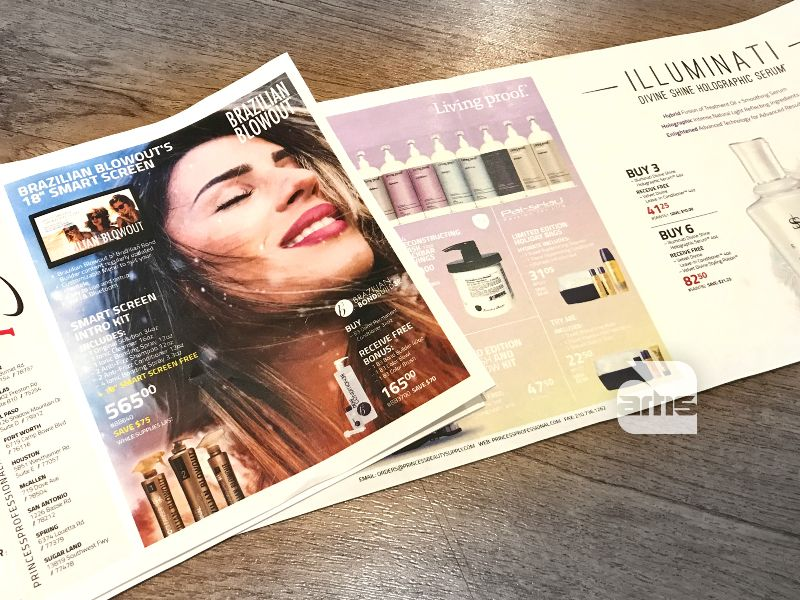 Marketing Materials for Beauty Industry Distributor